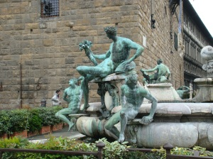 Ammanati's Fountain in Florence