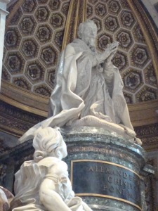 Bernini's Pope Alexander VII