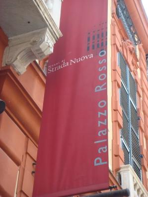 Genoa Italy: Stada Nuova Palazzo Rosso