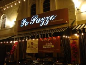 Po Pazzo Restaurant in San Diego California