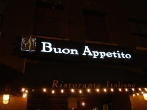 Buon Appetito Restaurant in San Diego