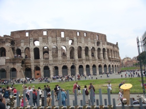Rome's Glorious Colosseum for gladiator combat