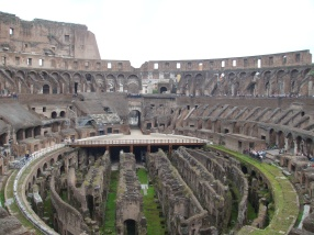 The Colosseum in Rome Italy