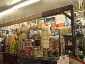 Italian Cheese store in Little Italy in San DIego