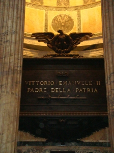 Tomb of King VIctor Emanuele II in Rome Italy