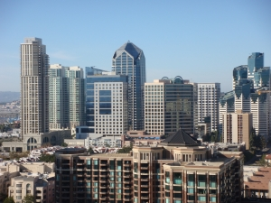 Skyline in San Diego California