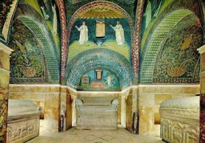 Beautiful Mosaics in Ravenna Italy