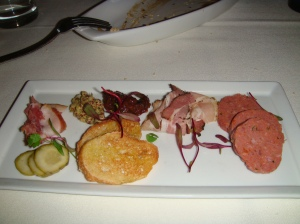 Smoked Meat Appetizer @ One Sixty Blue in CHicago