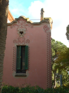 Gaudi lived here until 1926