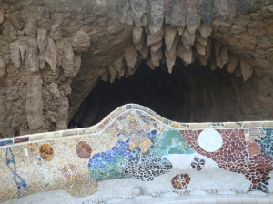 Gaudi's Park Guell in Barcelona