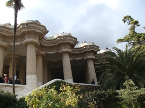 Gaudi's Park Guell in Barcelona Spain