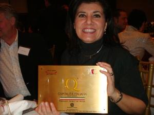 Mrs. Mafrici from Pelago Restaurant in Chicago