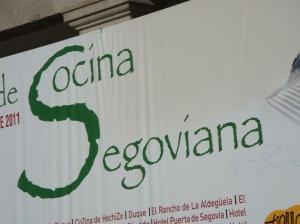 Segovia is a Castilian town in Spain