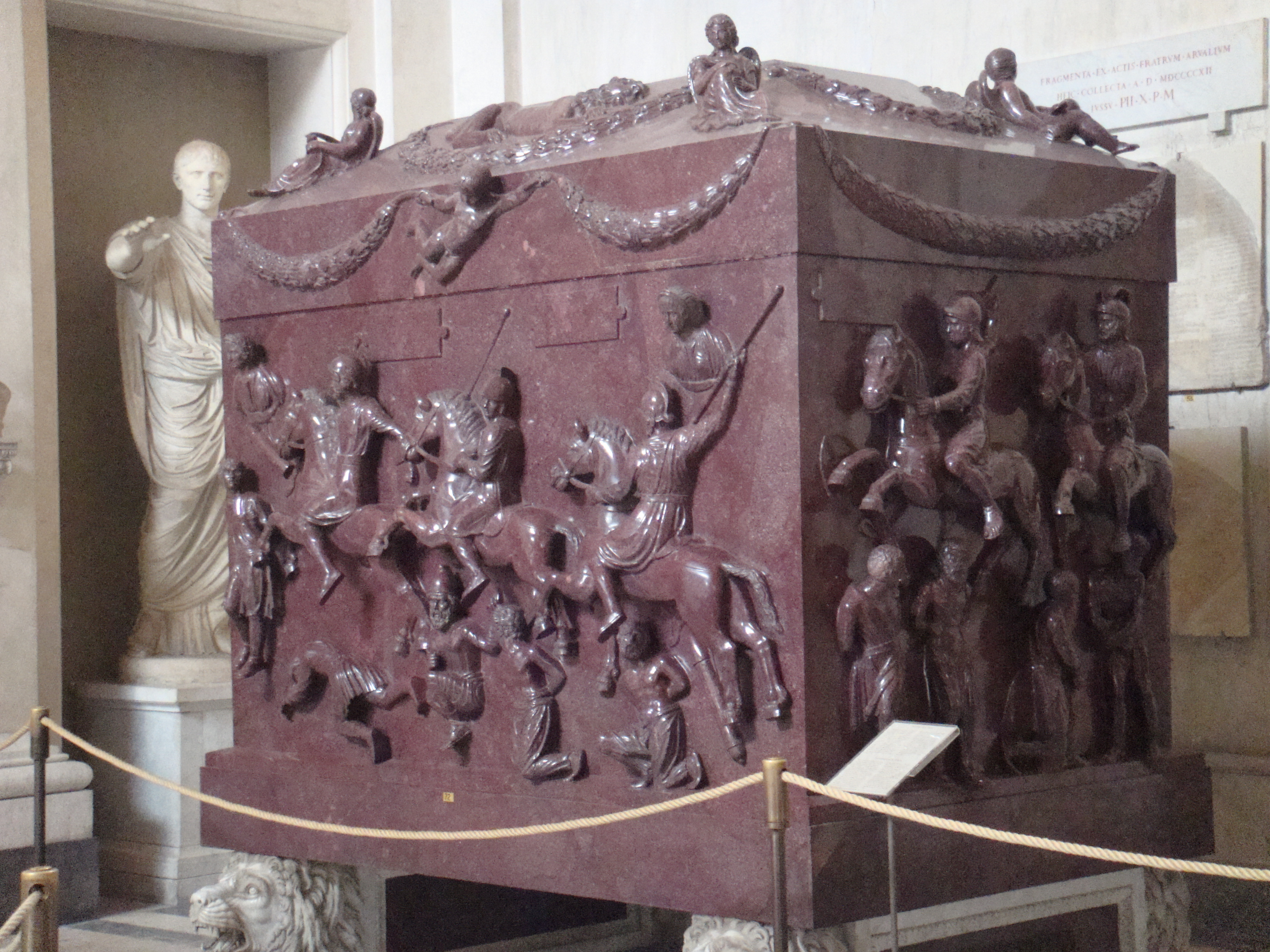 art sarcophagus The eternal embrace: conserving the tetnies sarcophagi a project initiated by the museum of fine arts, boston, to conserve two of its most prized works of classical art, the tetnies sarcophagi, has revealed an intimate world of ancient rituals.