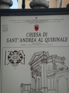 Chiesa Sant' Andrea al Quirinale