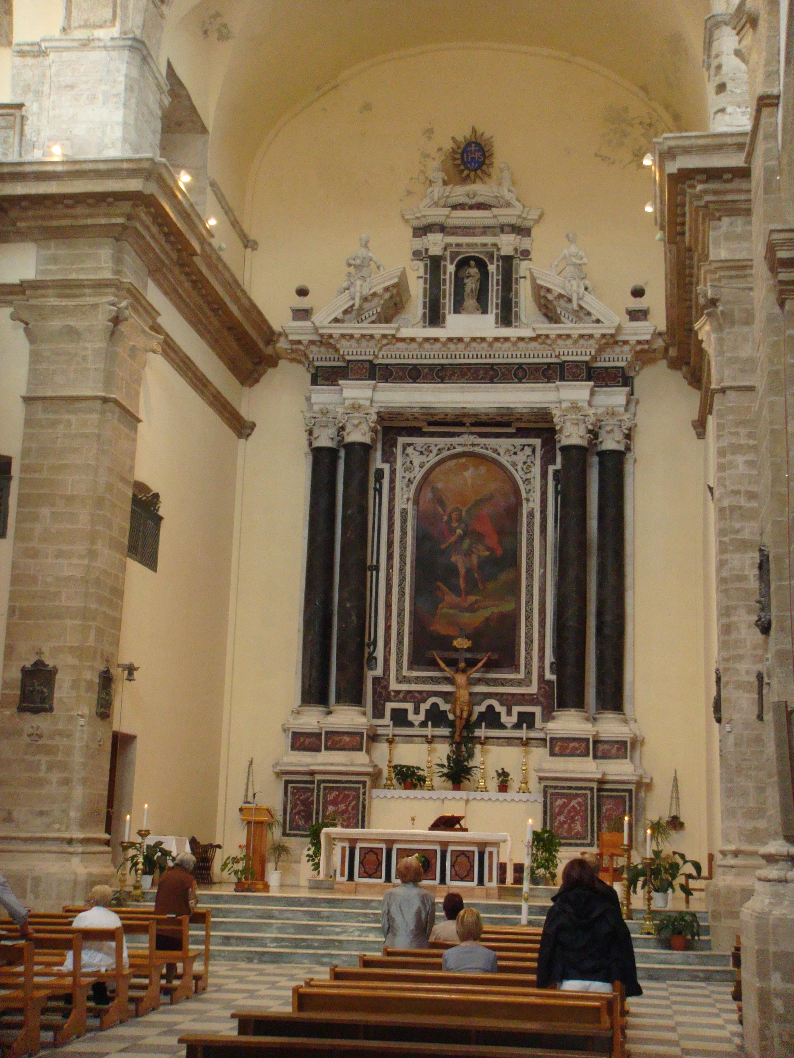 church of san michele in alghero sardinia vino con vista. Black Bedroom Furniture Sets. Home Design Ideas
