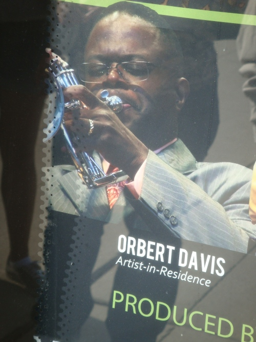 Orbert Davis at the Chcago Jazz Festival