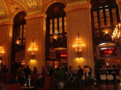 Chicago's Palmer House Lobby