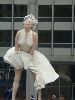 Marilyn Monroe in Chicago