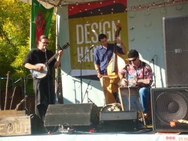 Live Music at Harvest Design Festival 2011