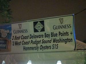 Oyster Fest in Roscoe Village