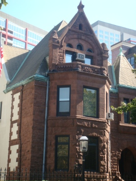Joseph G. Coleman House at 1811 S. Prairie in Chicago