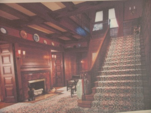 The Glessner House interior on Prairie Avenue