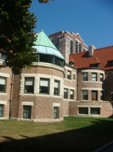 The Glessner House Courtyard on Prairie Avenue