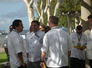 San Diego Wine Festival 2012 Chefs