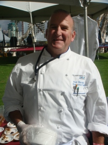 Chef at the San Diego Wine Festival 2012