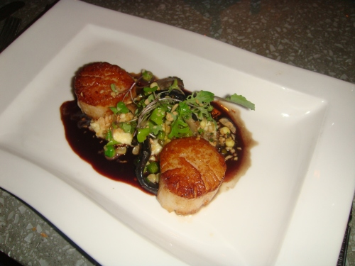 Scallops in Chicago at Aria