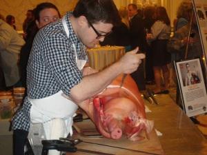 Cochon 555: Let's butcher a pig
