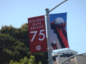 San Francisco Golden Gate Bridge 75th Anniversary in 2012