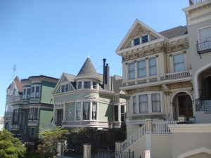 San Francisco Painted Victorian Ladies