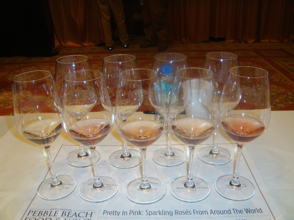 Pretty in Pink Sparkling Rose Tasting at Pebble Beach 2012