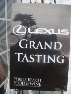 Pebble Beach Lexus Grand Tasting