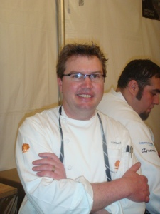 Tim Cook, Chef at the Carmel Valley Ranch in California