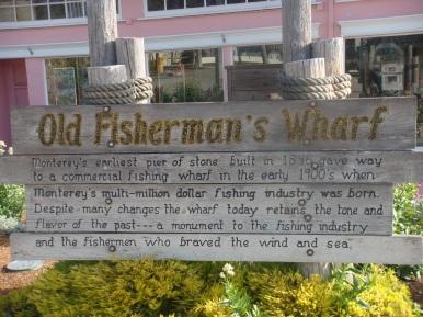 Fisherman's Wharf in Monterey California