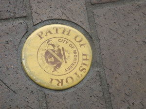 Path of History Sidewalk Markers in Monterey