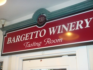 Bargetto Winery in Monterey