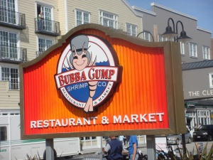 Bubba Gump Restaurant and Market in Monterey