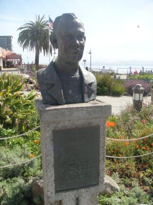 John Steinbeck in Monterey