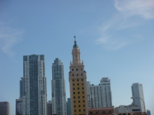 Freedom Tower in Miami Beach