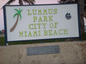 Lummus Park in the City of Miami Beach