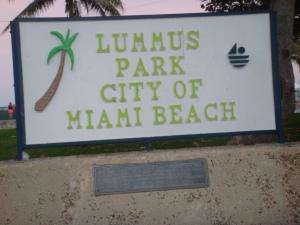 Lummus Park in the City of Miami Beach