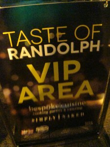 Taste of Randolf Street 2012 in Chicago