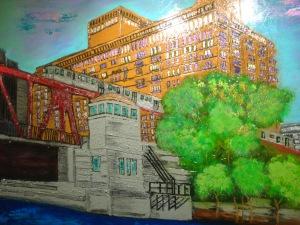 Art at Taste of Randolf Street