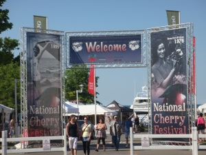 Cherry Festival in Traverse City Michigan