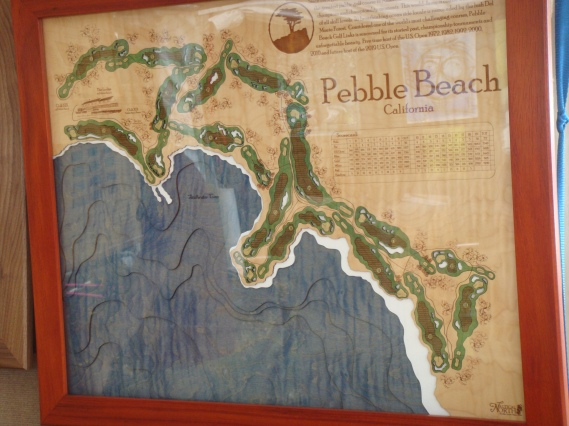 Pebble Beach Map