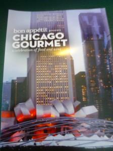 Chicago Gourmet 2012 Dine Around Receipt Holder